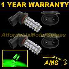 2x HB4 9006 Green 60 LED ANTERIORE principale HIGH BEAM LAMPADINE AUTO KIT XENON mb500901