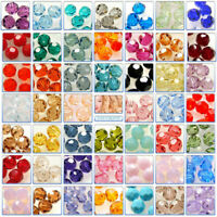 2pcs - 6pcs Genuine Swarovski Crystal Round Beads 5000 8mm Various Colours