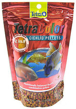 TETRA COLOR 2 IN 1 CICHILD PELLETS XLARGE XL 7.48 OZ LS2 FISH FOOD FREE SHIP USA
