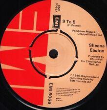 "SHEENA EASTON 9 to 5/moody (my love) EMI 5066 uk emi 1987"" WS EX/"
