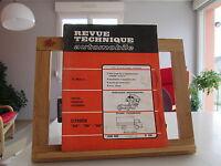 REVUE TECHNIQUE AUTOMOBILE N°266 JUIN 1968 BE/TBE