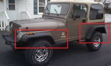 """JEEP WRANGLER YJ WHEEL ARCH - FENDER FLARES EXTENSIONS NEW 18cm / 7"""""""
