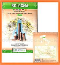 Bologna - Mappa Cartina Pianta della città 1:14.000