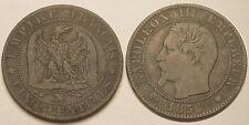 Napoléon III, 5 Centimes 1856 MA Marseille, TTB !!