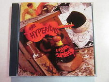 HYPERIONS UNDER MY SOMBRERO 2003 13 TRK PROMO CD ROCKABILLY ROCK MUSIC HTF OOP