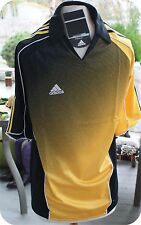 Adidas Soccer Jersey new with tags apolo shirt  size SMALL BLACK / Y CLIMACOOL
