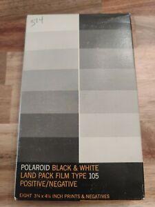 POLAROID Black & White Positive/Negative Type 105 Land Pack Film Exp 1974