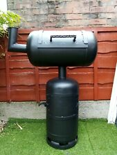 Gas bottle bbq/smoker