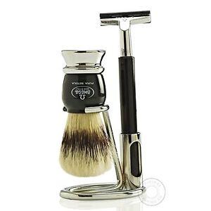 Omega 1648.6 Shaving Brush Set Kit