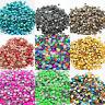 Hotfix Rhinestud Metal Studs Iron On Beads Dress Shoes T-shirt Bags 2 3 4 5mm