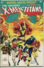 Marvel and DC Present Uncanny X-Men and Teen Titans # 1 very fine comic book