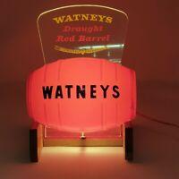 Vintage Watneys Draught Red Barrel Bar/Pump Light - Full Working Condition