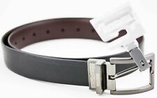 keaneath Cole Reation Belt  Accessories Men's Leather Black Brown Size 36 New