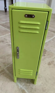My American Girl Doll School Locker & Accessories Lime Green Metal 2013