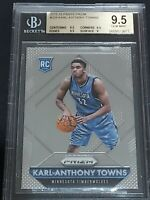 2015-16 Panini Prizm KARL-ANTHONY TOWNS #328 BGS 9.5 Rookie RC Timberwolves PSA