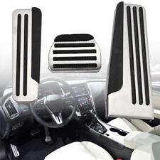 3pcs Sport MT Foot Rest Pedal For Infiniti G25 G35 G37 Q50 Q60 EX25 QX50 QX70
