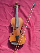 Alte Geige Violine mit Geigenbogen 57 cm