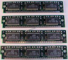 4 Stück SIMM Modul 30pol. 256K x 9 - 70ns                               A28/3352