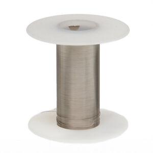 "28 AWG Gauge Nickel Chromium Resistance Wire Nichrome 80 100' Length 0.0126"""