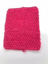 10 INCH LONG X 8 INCH WIDE YOUR CHOICE OF COLORS CROCHET EXTRA LARGE TUTU TOPS