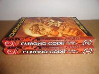 Chrono Code Vol. 1-2 Manhwa Manga Graphic Novel Book Complete Lot in English