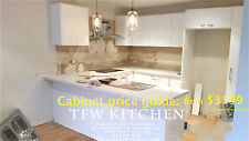 Complete Kitchen Cabinets+Polyurethane Gloss White Door+Kickboard for $3567