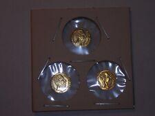 LOT of 3 - Gold 1/2 GRAM MINI coins