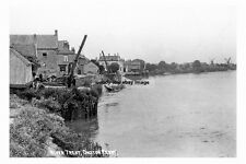 pt1888 - River Trent , Owston Ferry , Lincolnshire - photograph 6x4