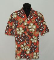 VTG Made Hawaii Hawaiian Shirt Aloha Royal Creations Hibiscus Tropical Matched L