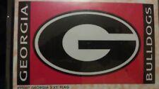 Georgia Bulldogs 3ft by 5 ft flag 95007 Georgia Bulldogs Flag 3' x 5' Bsi