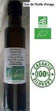 Huile d'argan Bio,Pure et fraîche PRESSION FÉVRIER 250 ml pour usage alimentaire