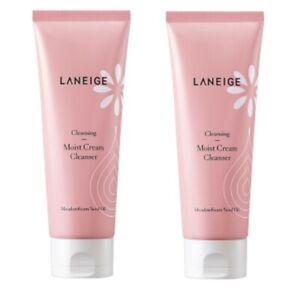 Lanegie Moist Cream Cleanser 150ml 2pcs High Concentrate Deep Bubble Cleansing