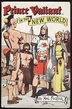 "VF 1956 ""PRINCE VALIANT IN THE NEW WORLD"" COMIC STRIP BOOK W/ DJ - HAL FOSTER"