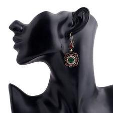 Bohemia Rhinestone Flower Style Ear Elegant Dangle Jewelry Women Stud Earrings