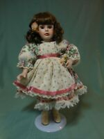 """Paradise Galleries 14"""" Porcelain doll Rose by Patricia Rose"""
