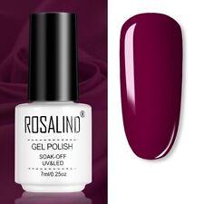 Nail Polish Art Gel Color Manicure Semi Permanent Vernis LED Varnish Soak HOT