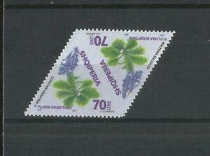 Albania Albanien  2007 MiNr 3231 Flowers ERROR Printed in both sides and uncut