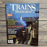 Vintage Magazine Trains Illustrated May 1990 Railroads