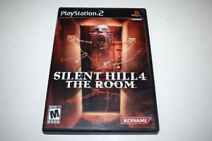 Silent Hill 4 The Room Playstation 2 PS2 Original Video Game Case w/ Artwork