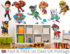 PAW Patrol Wall Decals & Stickers for Children