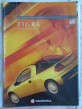 Vauxhall Tigra range brochure 1997 Ed 2