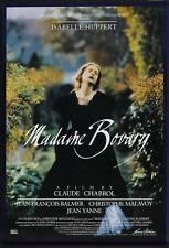 "MADAME BOVARY - 27""x40"" Original Movie Poster One Sheet Isabellel Huppert 1991"