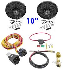 """Fan & Relay Kit Dual10 """" Electric Champion Cooling Systems CA"""