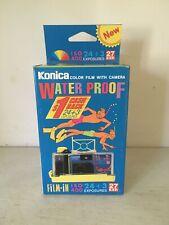 Vintage Konica waterproof camera 1990's. Brand new.