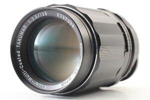 [EXC+4] ASAHI OPT. Super-Multi-Coated TAKUMAR 135mm f/3.5 PENTAX M42 From JAPAN