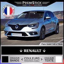 Sticker Pare Soleil Renault - Autocollant Voiture, Stickers Rallye, Racing, ref1