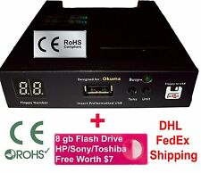 Floppy Drive to USB Converter Emulator for Okuma Lathe + free 8 GB Flash Drive
