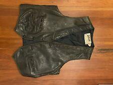 New listing vintage schott leather vest