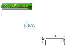 BATTERIA RICARICABILE NI-MH AAA MINISTILO 1,2V 900mAh 11x45mm SALDARE BC2105-05