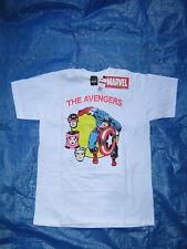 (New) Marvel Avengers White Medium T-Shirt, Capt America, Hawkeye, Scarlet Witch